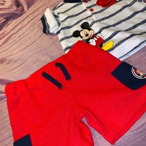 2piece outfit boys size 0-3 months
